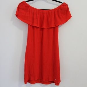 Guess Red formal dress (off shoulders)